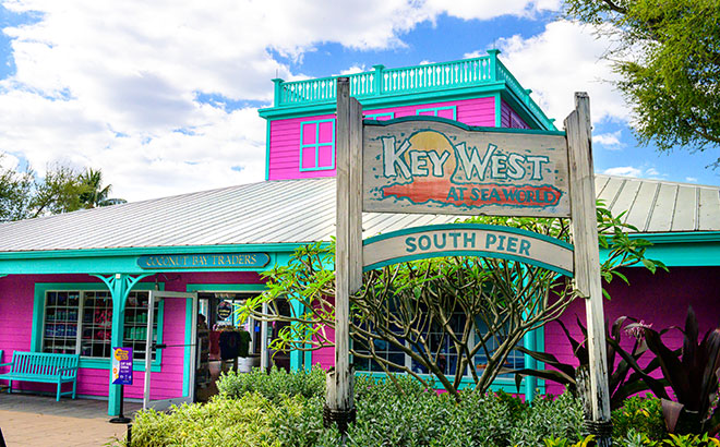 SeaWorld Orlando's refreshed Key West