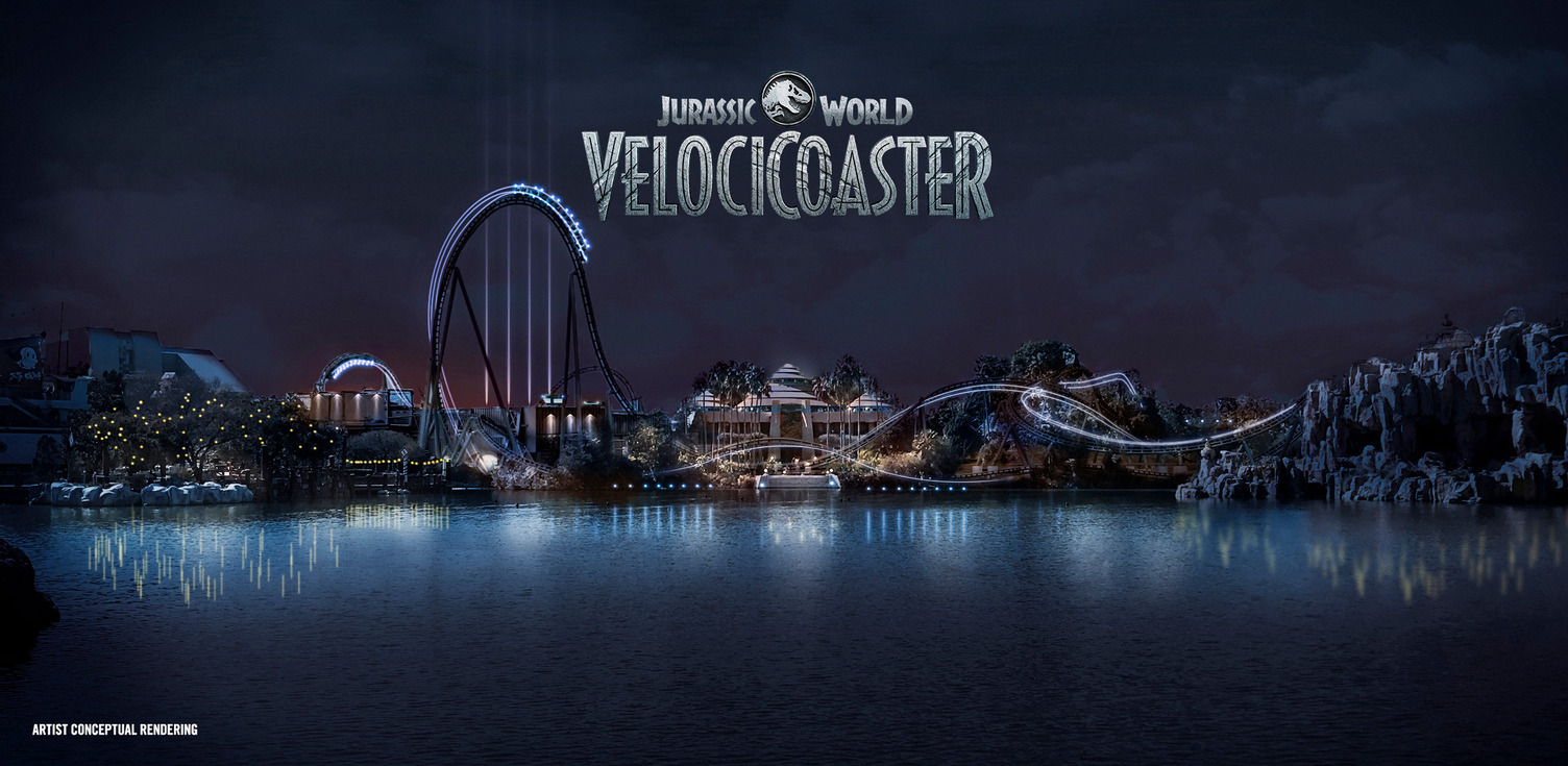 Jurassic World VelociCoaster at Islands of Adventure