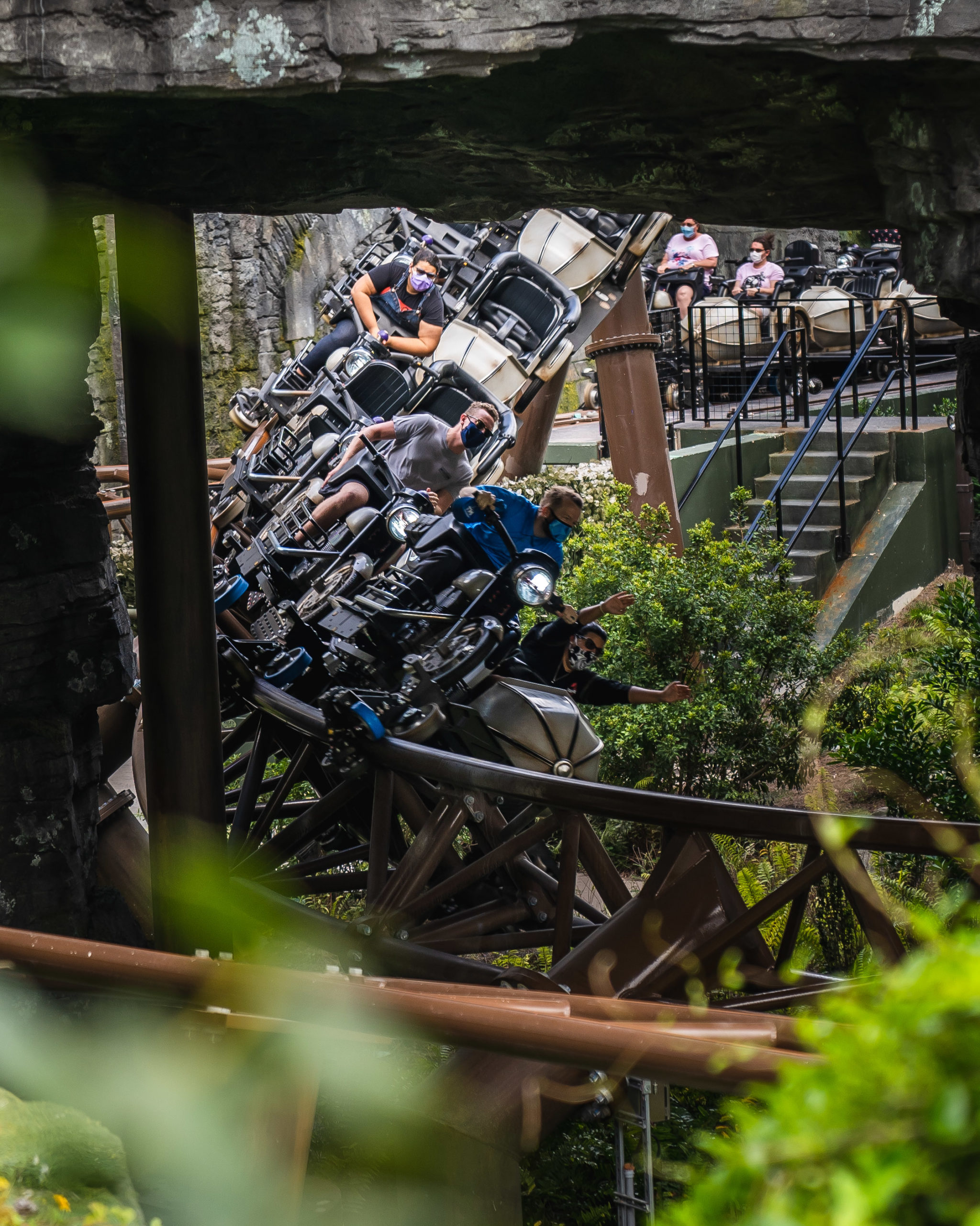 Hagrid's Magical Creatures Motorbike Adventure at Islands of Adventure