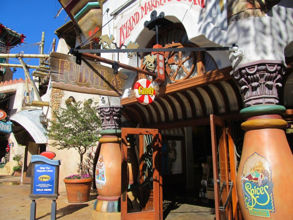 Island Market and Export Candy Shoppe at Port of Entry