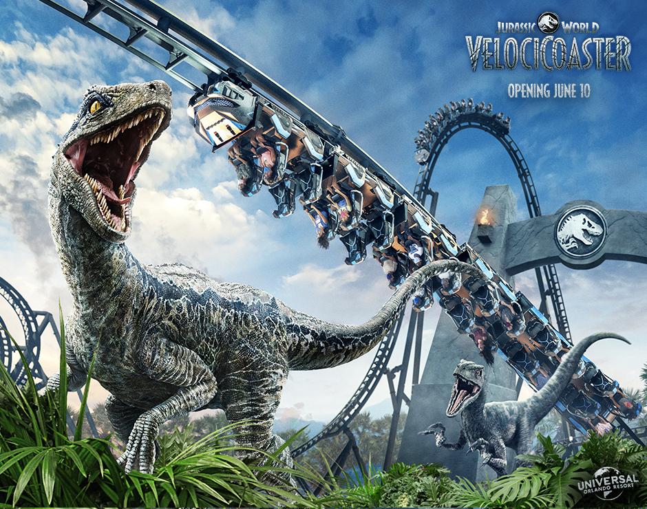 Jurassic World VelociCoaster at Islands of Adventure