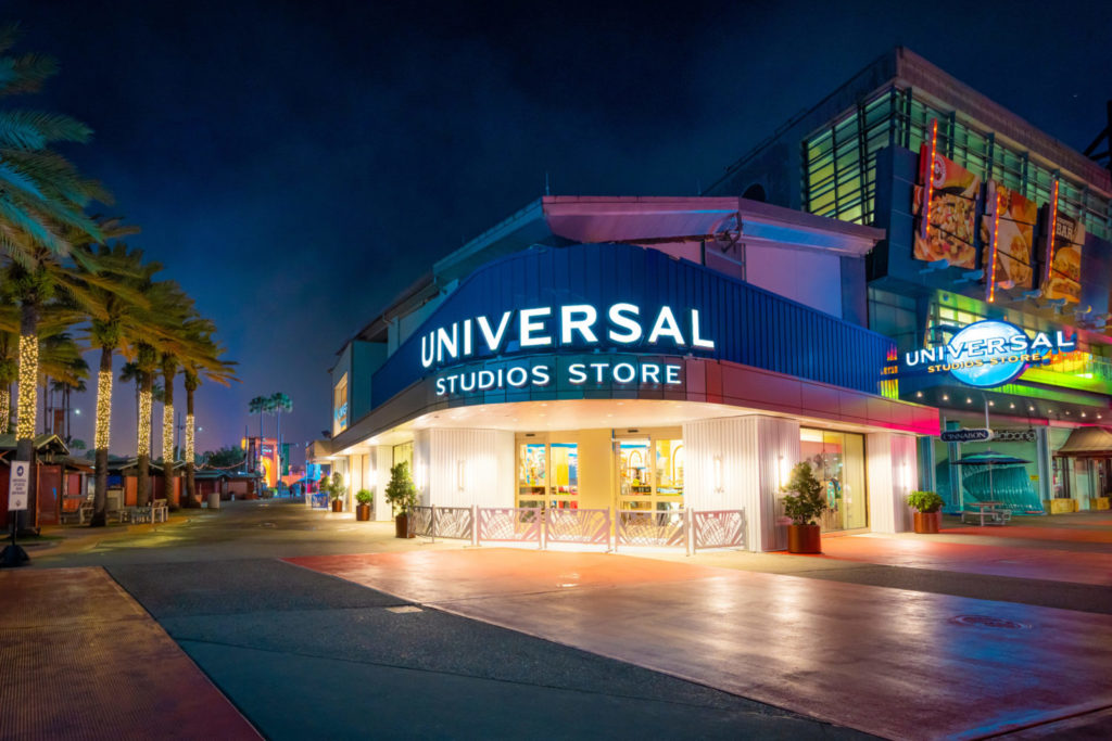The new Universal Studios Store at CityWalk