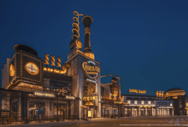 Universal CityWalk – The Toothsome Chocolate Emporium & Savory Feast Kitchen at CityWalk Beijing