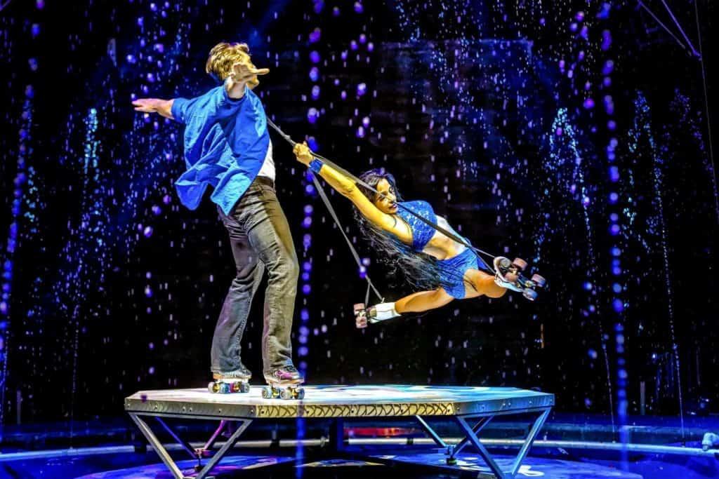 Cirque Electric at Busch Gardens Tampa Bay summer 2021