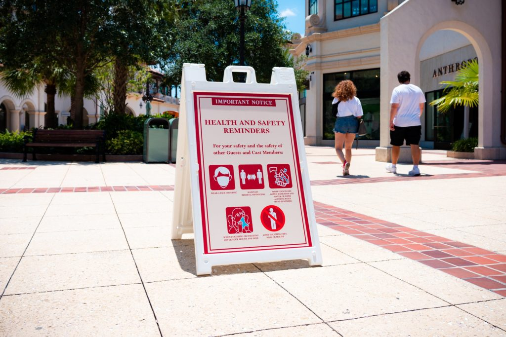 Disney World's updated safety precautions