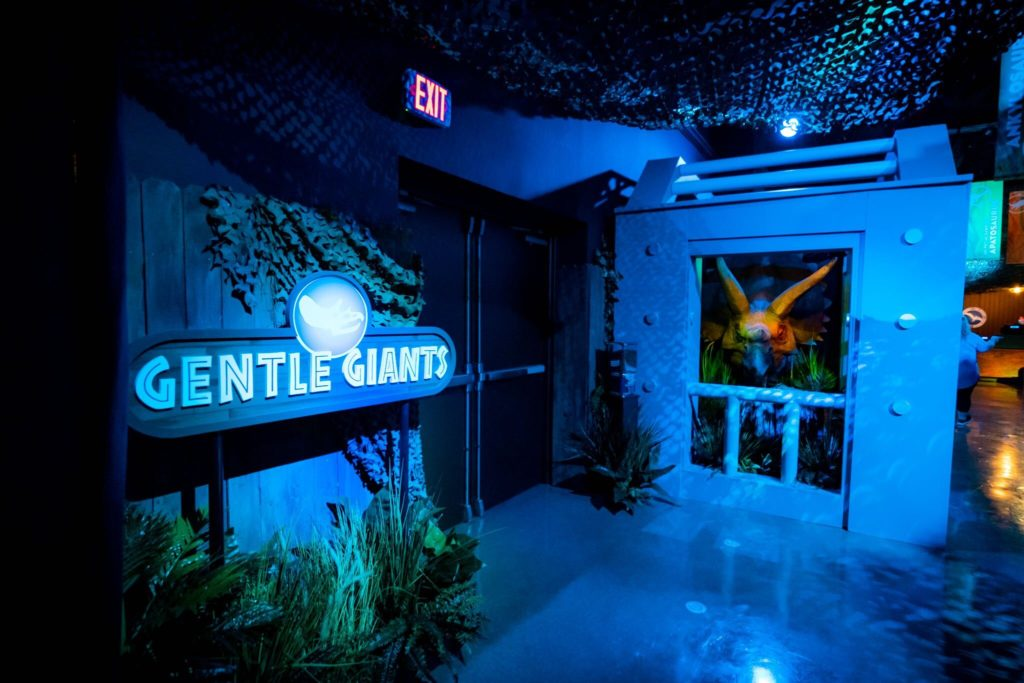 The Gentle Giants section of the Jurassic World Tribute Store