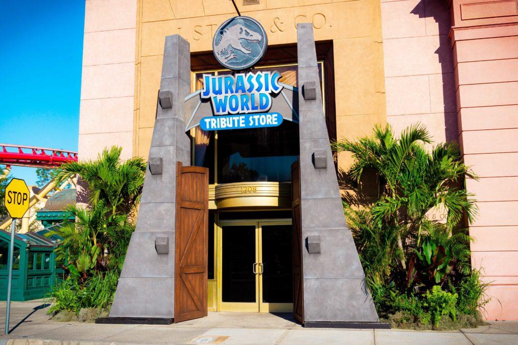 Jurassic World Tribute Store at Universal Studios Florida