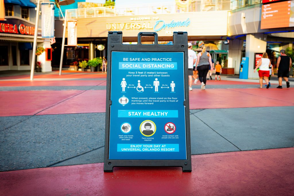 New safety guidelines at Universal Orlando