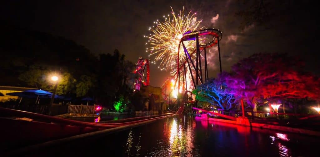 Spark! A Nighttime Spectacular at Busch Gardens Tampa Bay summer 2021
