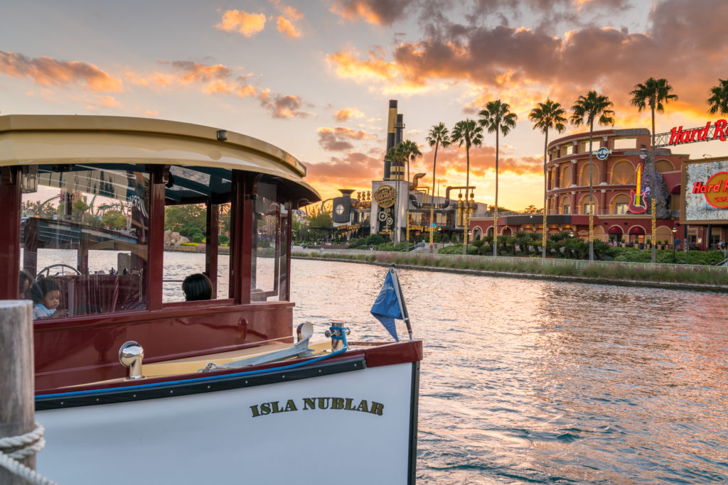 On-site boats provide adults and children alike with transportation to their vacation!