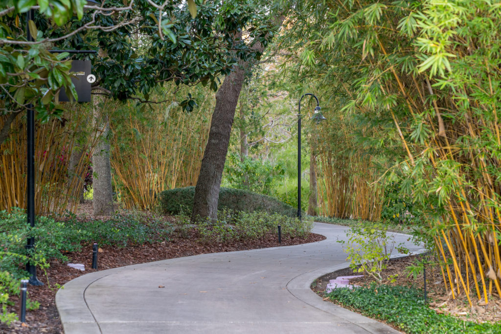 Enjoy your adult beverage and head to Universal CityWalk on the shady Garden Walkway.