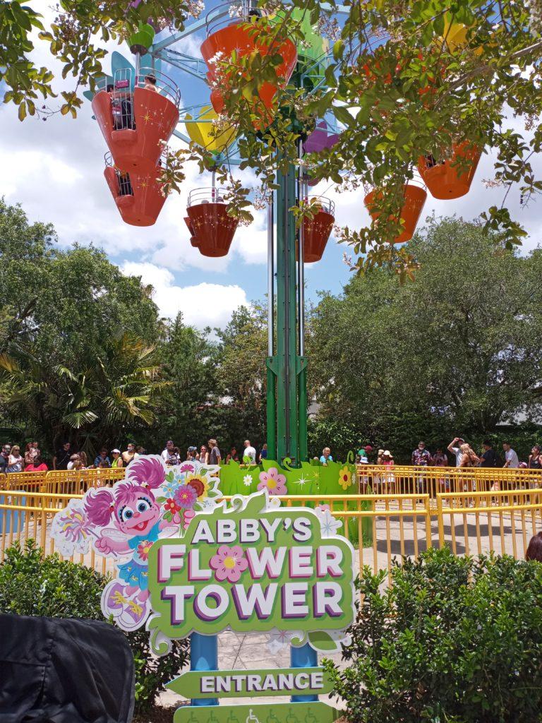 Abby's Flower Tower at SeaWorld Orlando