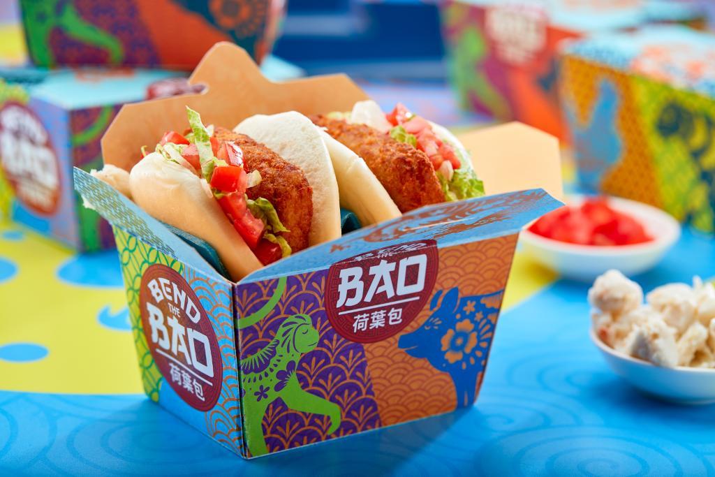 Crab Cake Bao at Universal CityWalk's Bend the Bao