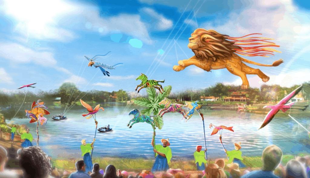 Disney Kite Tails at Animal Kingdom
