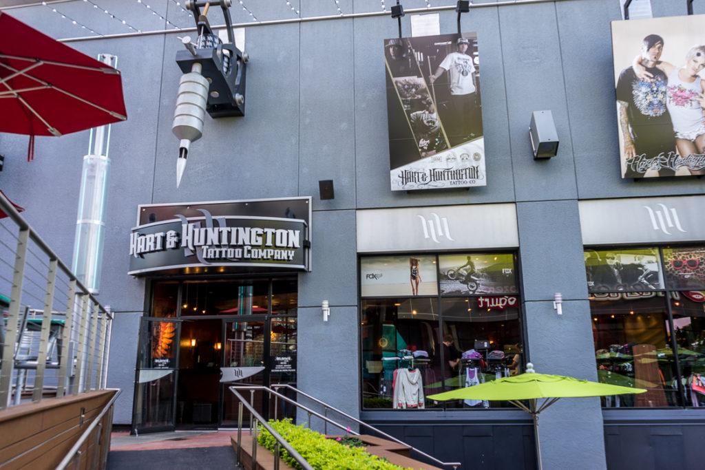 Hart & Huntington Tattoo Company at Universal CityWalk Orlando