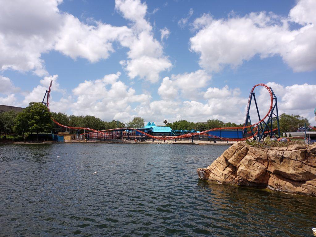 Ice Breaker's full track at SeaWorld Orlando