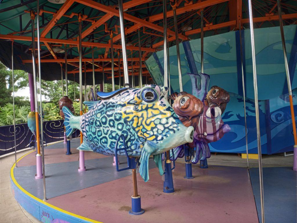 Ocean Carousel at SeaWorld Orlando