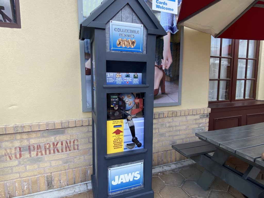 Pressed pennies at Universal Orlando Resort