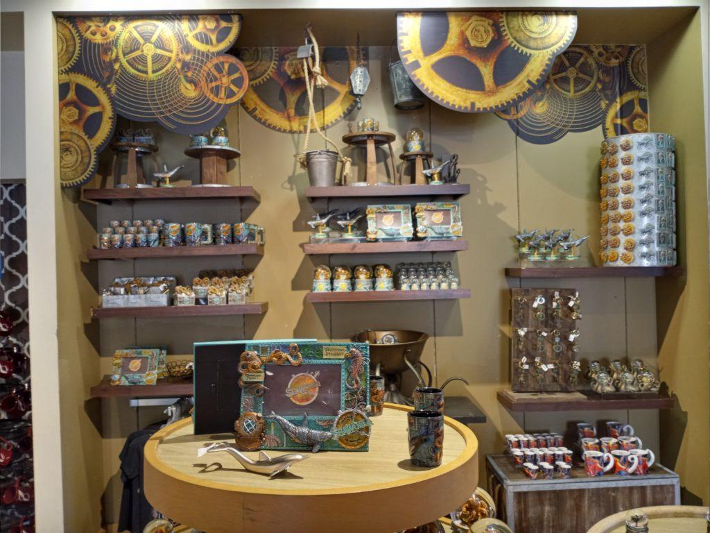 Steampunk merch at SeaWorld Orlando