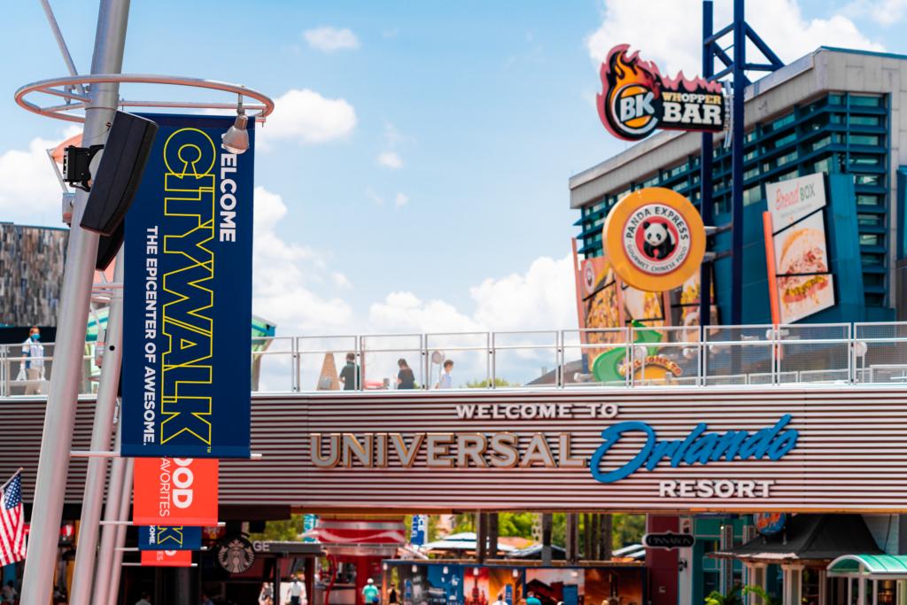 Universal CityWalk Orlando entrance