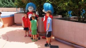Characters at Universal Orlando.