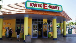 Kwik-E-Mart at The Simpsons Ride.