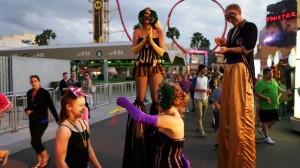 Mardi Gras French Court Yard at Universal Studios Florida