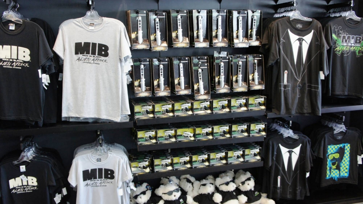 Branded T-shirts and Men In Black toys for sale at MIB Gear