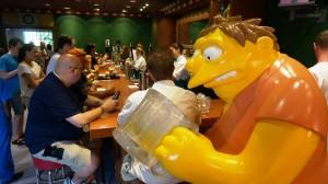 The Simpsons Moe's Tavern at Universal Studios Florida