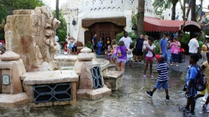 Mystic Fountain at Universal's Islands of Adventure