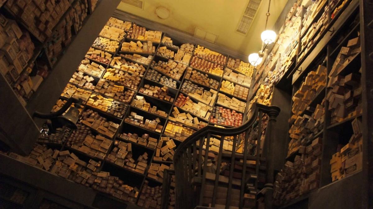 Резултат слика за ollivander wand shop