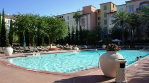 Loews Portofino Bay Hotel villa pool at Universal Orlando Resort