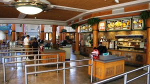 Burger Digs at Universal's Islands of Adventure