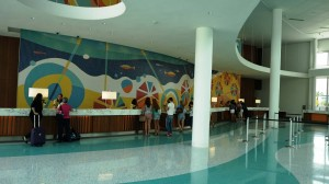 Cabana Bay's Lobby at Universal Orlando Resort