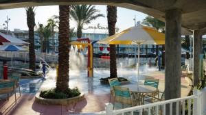 Cabana Bay Beach Resort's North Courtyard pool at Universal Orlando Resort