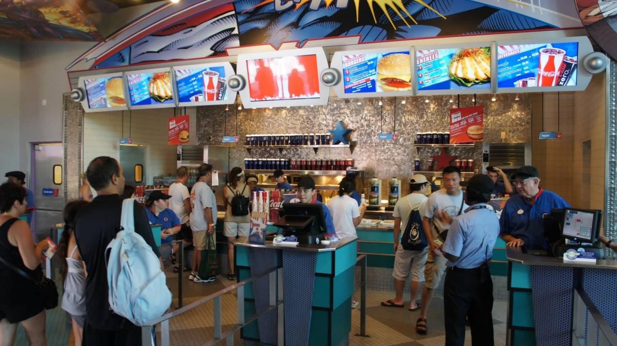 Captain America Diner Islands Of Adventure Menu