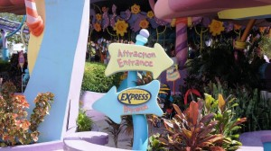 Caro Seuss El at Universal's Islands of Adventure