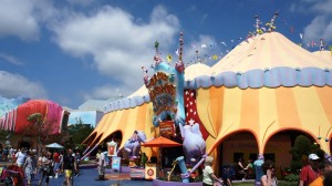 Circus McGurkus at Universal's Islands of Adventure