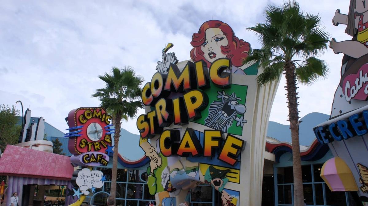 Cafe  Islands Of Adventure Menu