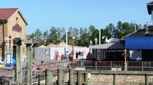 Diagon Alley Construction March 18, 2012