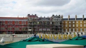 The Wizarding World of Harry Potter - Diagon Alley Construction January 10, 2014