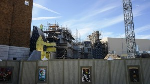 The Wizarding World of Harry Potter - Diagon Alley Construction January 17, 2014