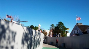 Amity Island at Universal Studios Florida January 2, 2012