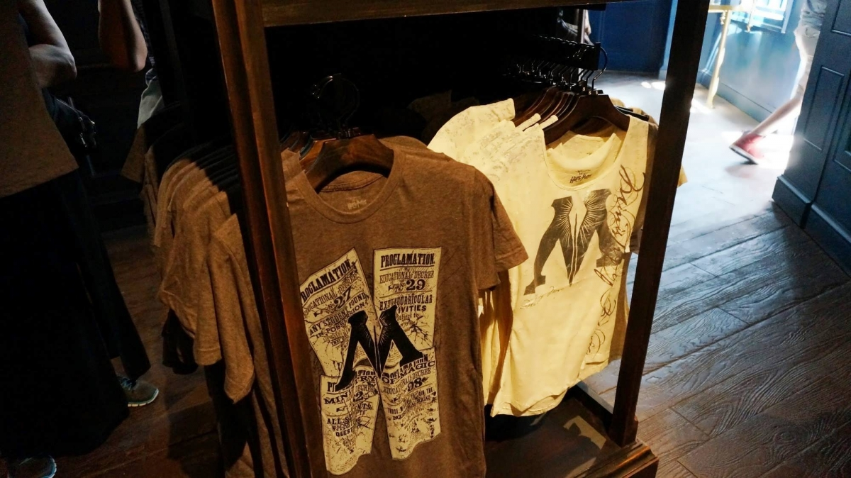 Shopping Merchandise At Wizarding World Of Harry Potter Diagon Alley
