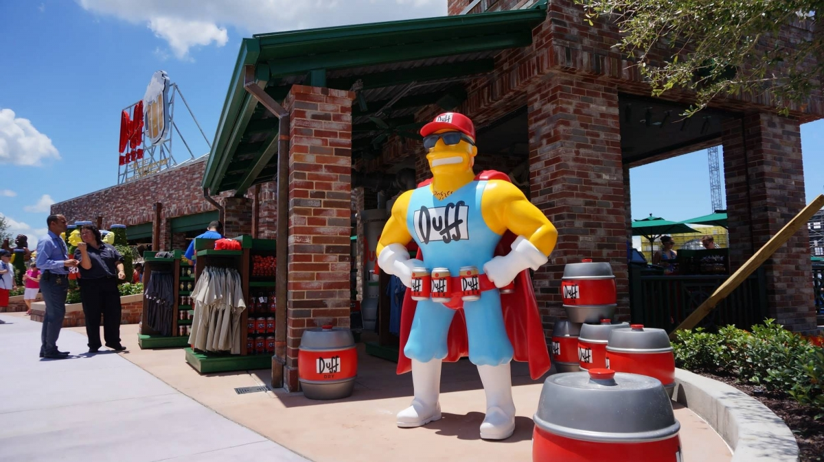 Welcome To Springfield Usa At Universal Studios Florida