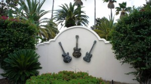 Hard Rock Hotel entrance at Universal Orlando Resort