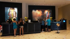 Hard Rock Hotel lobby at Universal Orlando Resort