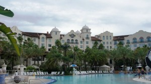 Hard Rock Hotel pool at Universal Orlando Resort