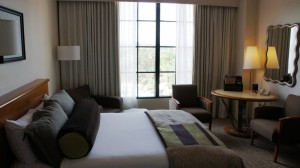 Hard Rock Hotel room at Universal Orlando Resort