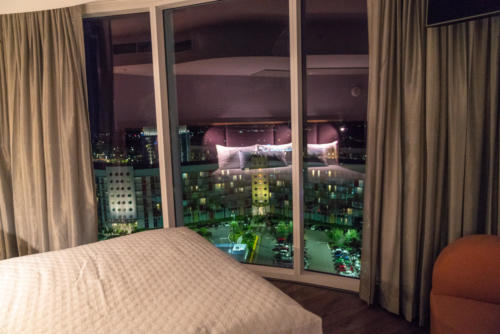 Deluxe room at Universal's Aventura Hotel